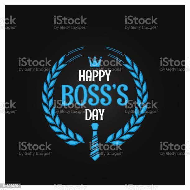 Boss Day Icon Sign Design Background - Immagini vettoriali stock e altre immagini di Affari