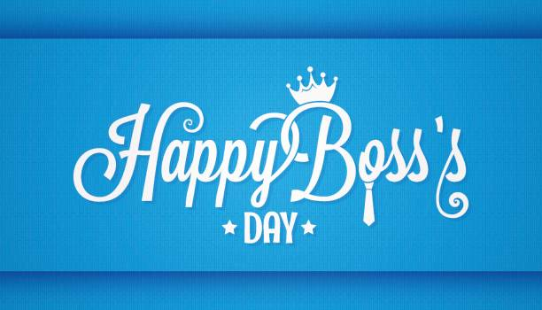 boss day icon vintage lettering design background boss day icon vintage lettering design background 10 eps happy boss stock illustrations