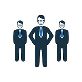 Boss, team leader icon. Beautiful, meticulously designed icon. Well organized and editable Vector for any uses.