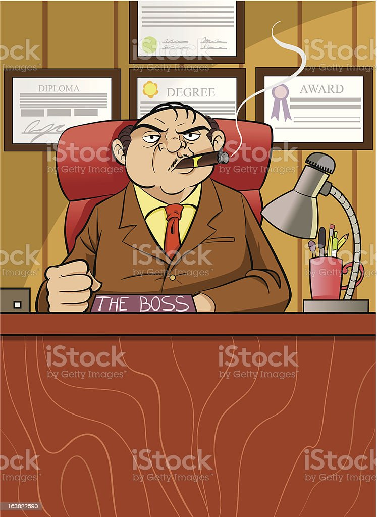 Boss royalty-free boss stock vector art & more images of adult
