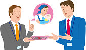 A boss who permits or recommends an application for paternity leave. Rejoice male employee