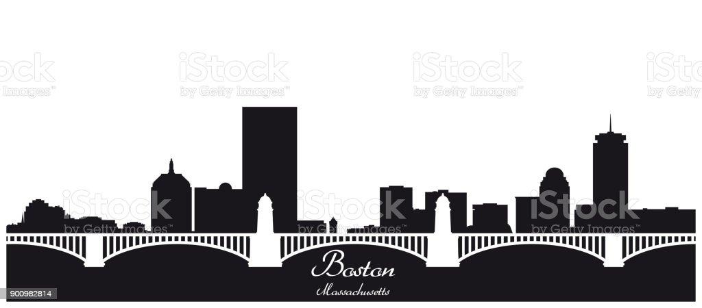 royalty free boston skyline clip art vector images illustrations rh istockphoto com
