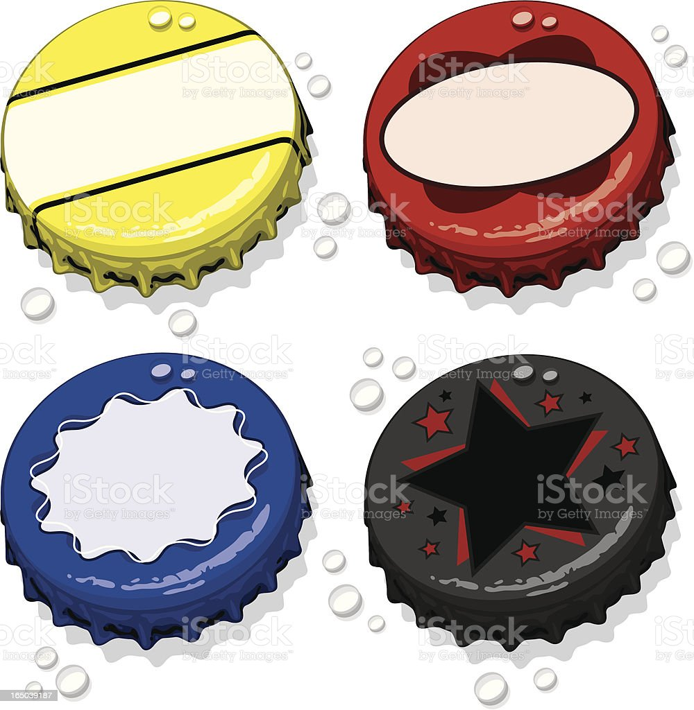 Bottle Caps royalty-free bottle caps stock vector art & more images of alcohol