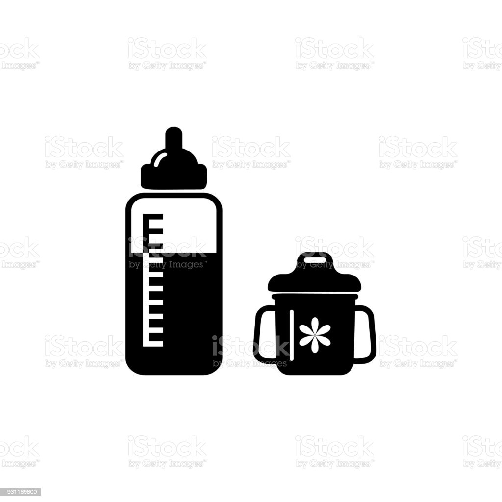 Bottle For Feeding A Child Icon Element Of Baby Icon Premium Quality