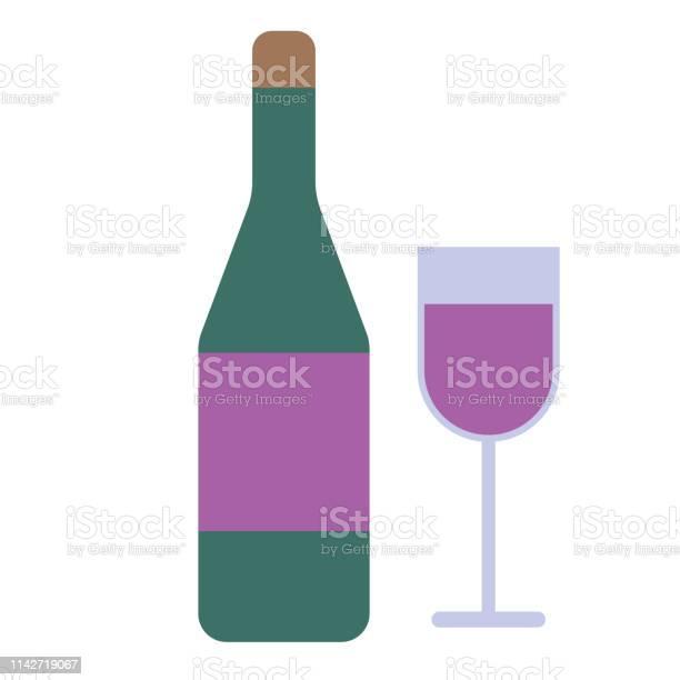 Bottle glasses flat illustration on white vector id1142719067?b=1&k=6&m=1142719067&s=612x612&h=6v1tsdeozylrl6h2j jee0 v7cdyf4yod1 aot9kkec=