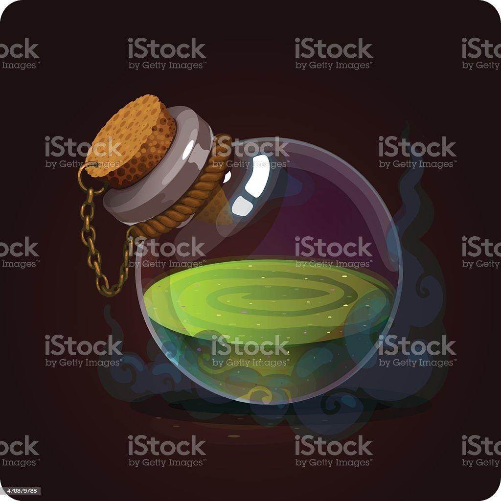 bottle icon game vector art illustration