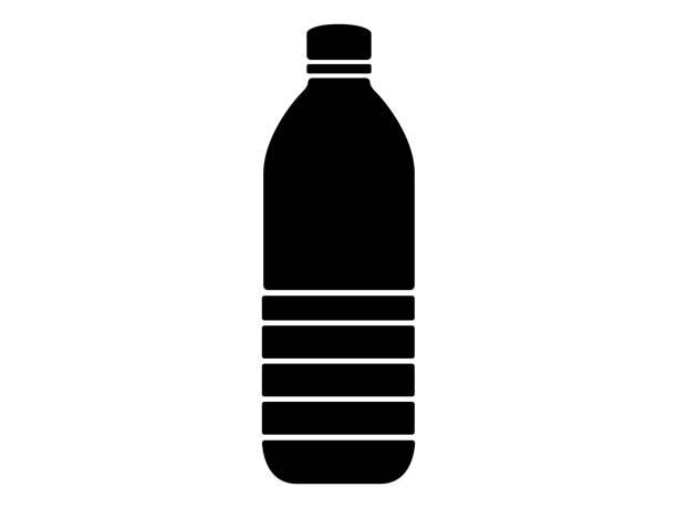 illustrations, cliparts, dessins animés et icônes de icône de la bouteille d'animal familier - bouteille d'eau