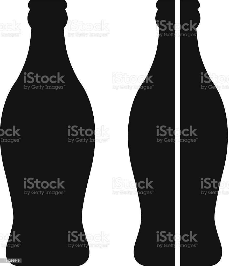 Garrafa da Coca-Cola - ilustração de arte em vetor