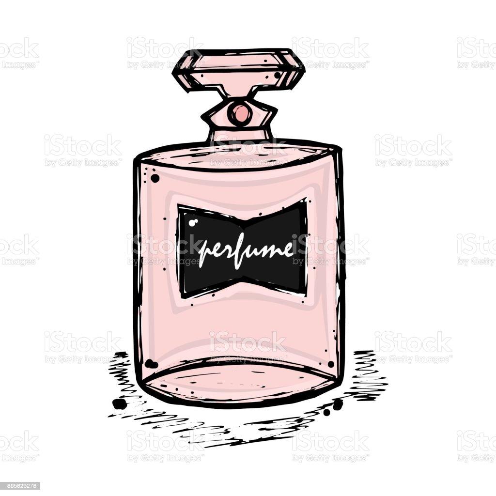Eine Flasche Parfüm Für Mädchen Frauen Mode Und Schönheit