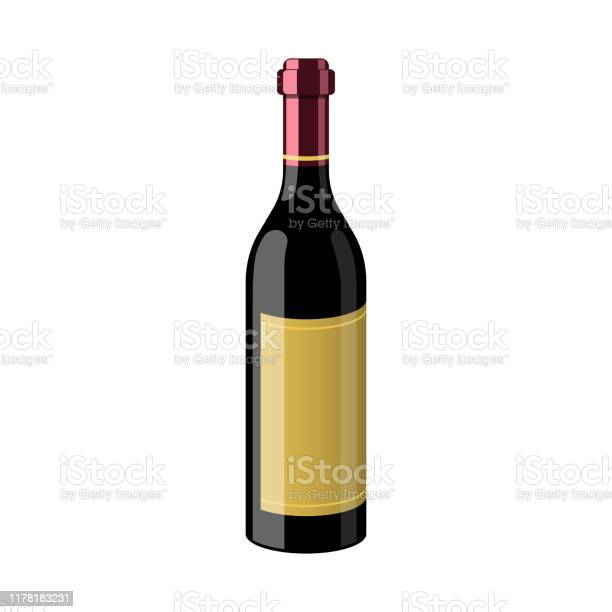 Bottle of wine vector design illustration isolated on white vector id1178183231?b=1&k=6&m=1178183231&s=612x612&h=c0hwfdr8l6hriil23jn8dtdzciyfpr5og7hp9 yxff4=