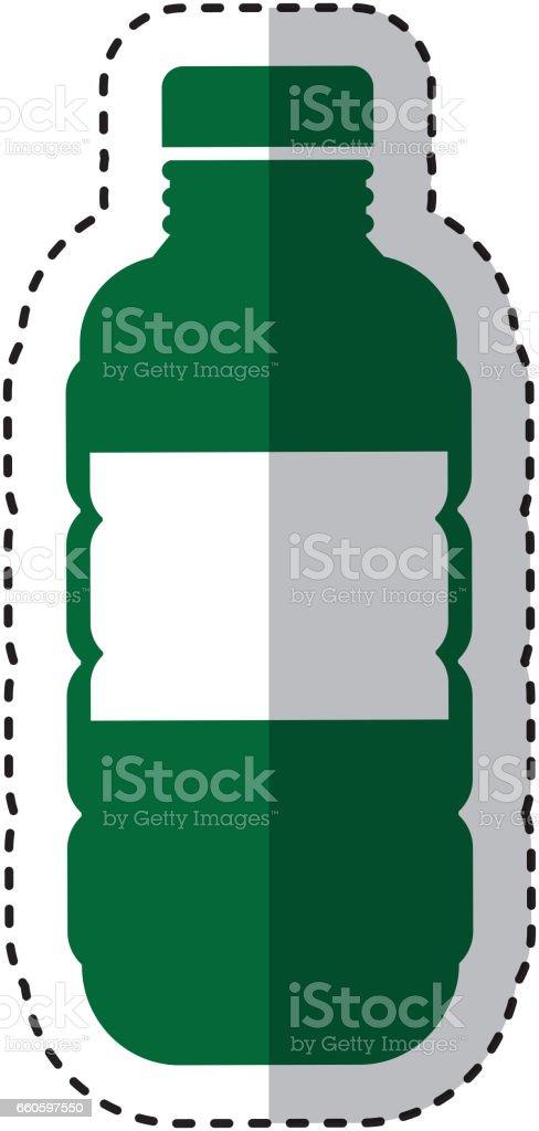 bottle plastic isolated icon royalty-free bottle plastic isolated icon stock vector art & more images of bottle