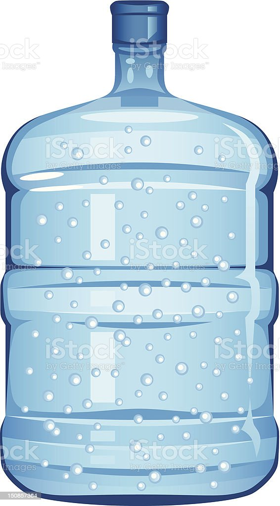 Bottle water royalty-free stock vector art