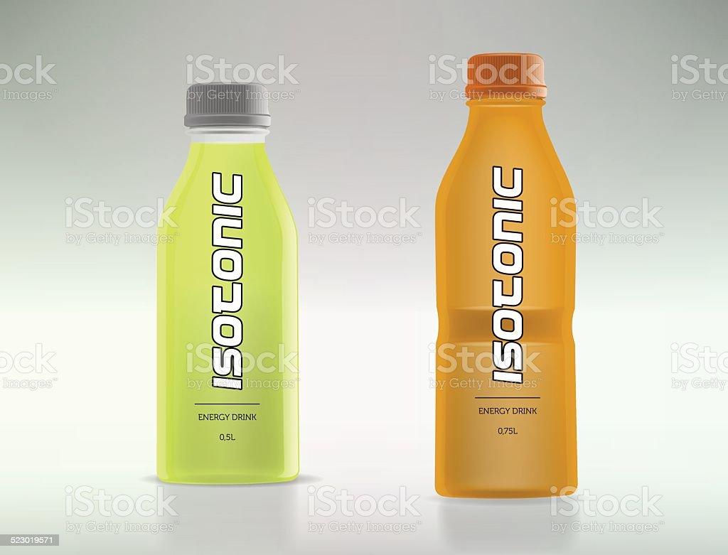 Flaschen Für Isotonische Getränke Stock Vektor Art und mehr Bilder ...