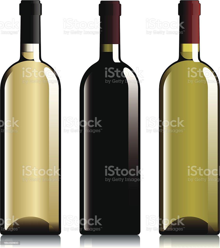 Bottles. royalty-free stock vector art