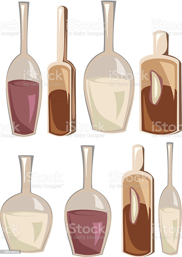 Bottles royalty-free bottles stock vector art & more images of alcohol