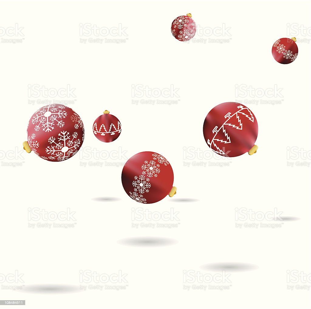 Bouncing baubles royalty-free bouncing baubles stock vector art & more images of backgrounds