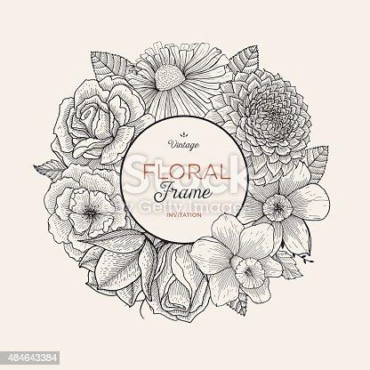 istock Bouquet label 484643384