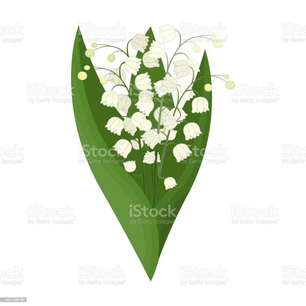 Un Bouquet De Fleurs Fraîches Simple Icône Dans Le Style De Dessin