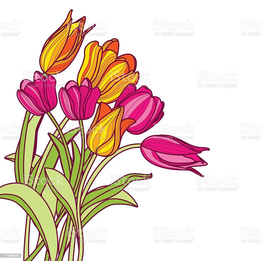 Цветы флора сток