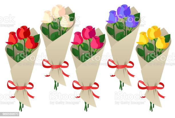 Bouquet of roses vector id986569870?b=1&k=6&m=986569870&s=612x612&h=kbipuemd2vjesyuw6fnugge6lhfnjnvwrxncdpeclg4=