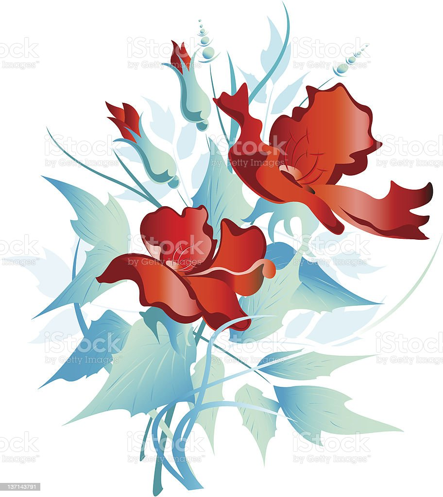 bouquet poppy royalty-free bouquet poppy stock vector art & more images of abstract