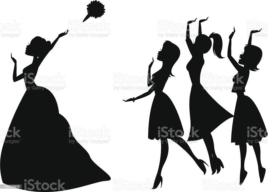 royalty free bridesmaids clip art vector images illustrations rh istockphoto com bridesmaid clip art free bridesmaid clip art free