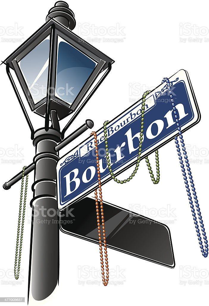 royalty free bourbon street clip art vector images illustrations rh istockphoto com clipart street art street clipart free