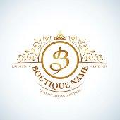 Boutique Luxury Vintage logo.