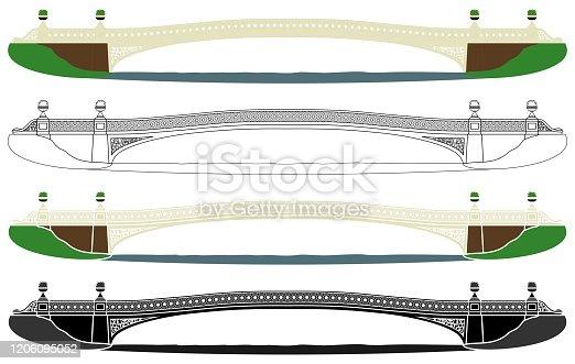 istock Bow Bridge in Central Park 1206095052