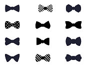 istock Bow icon collection 916624948