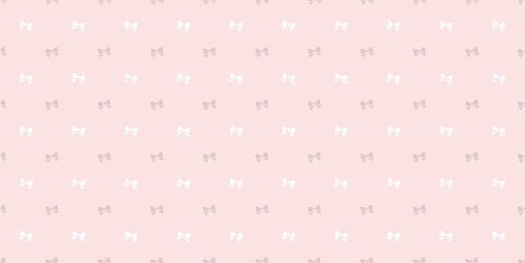 Bow seamless repeat pattern background.