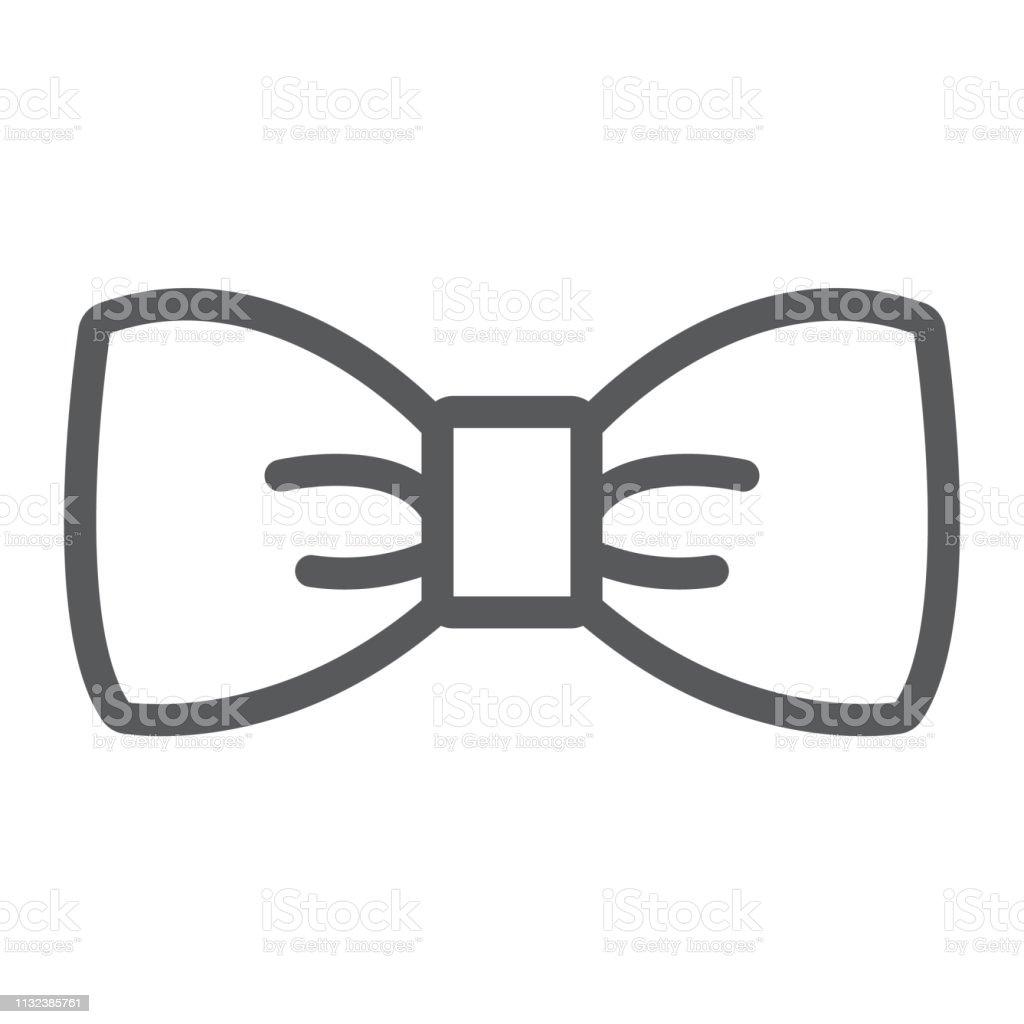 Bogenbinde Lineicon Tuxedo Und Knoten Halskrawattezeichen