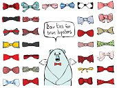 Bow ties for true hipsters