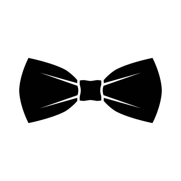 ilustrações de stock, clip art, desenhos animados e ícones de bow - smoking