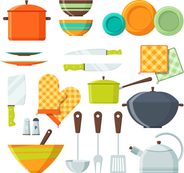 Best Kitchen Utensil Illustrations Royalty Free Vector Graphics
