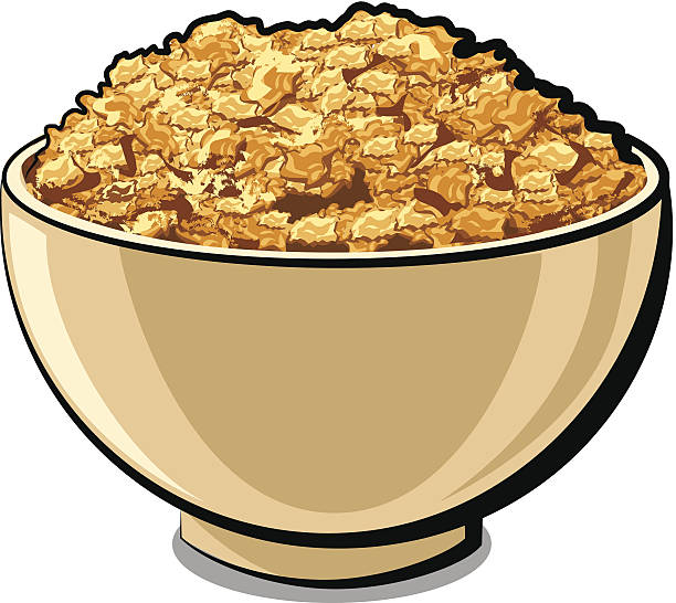 illustrazioni stock, clip art, cartoni animati e icone di tendenza di ottimo cornflakes - corn flakes