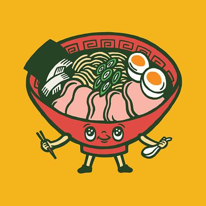 Bowl of Food Character