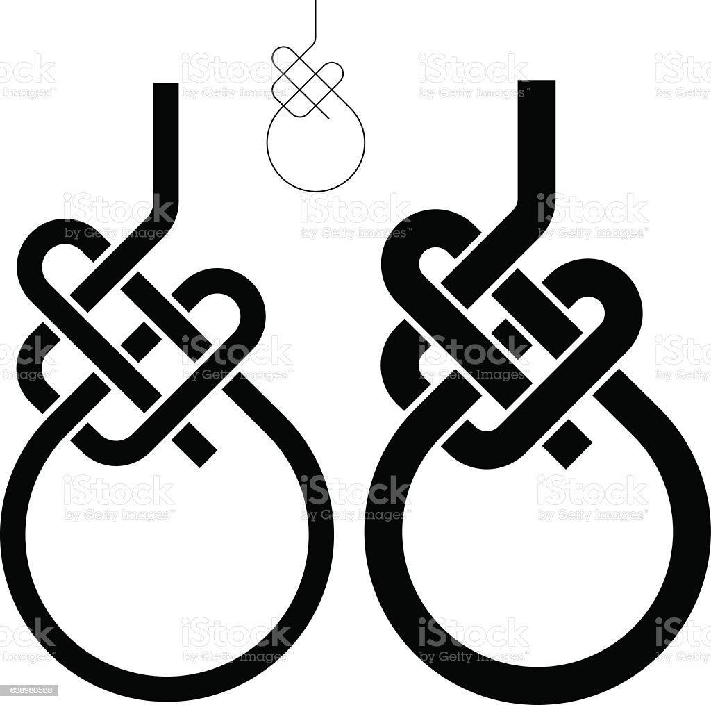 royalty free bowline knot clip art  vector images  u0026 illustrations