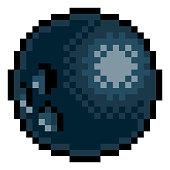 istock Bowling Ball Eight Bit Pixel Art Sports Game Icon 1335897883