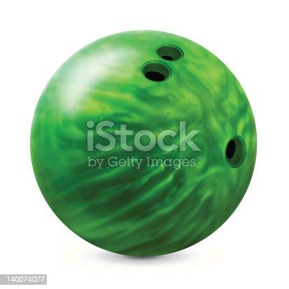 istock Bowling ball 140074077