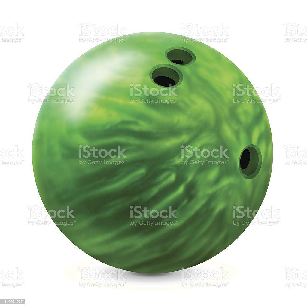 Bowling ball – Vektorgrafik