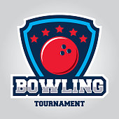 Bowling design template for bowling club