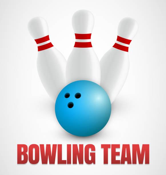Bowling icon vector art illustration