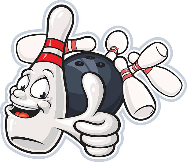 Best Bowling Pin Illustrations, Royalty-Free Vector ...