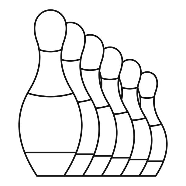 Royalty Free Bowling Alley Lane Clip Art, Vector Images ...