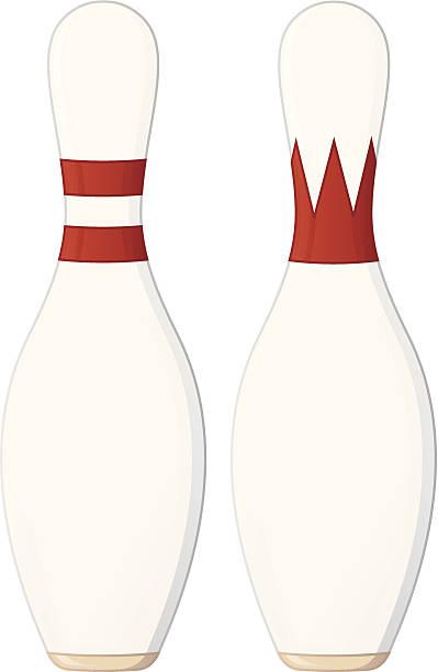 Bowling Pins vector art illustration