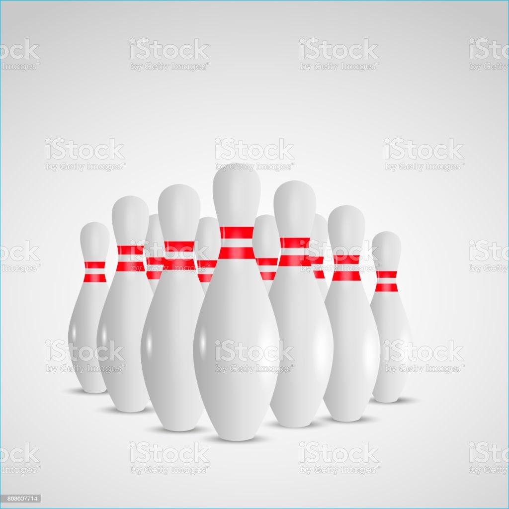 Comment Faire Pour Ouvrir Un Bowling bowling de fond illustration réaliste concept de loisirs jeu