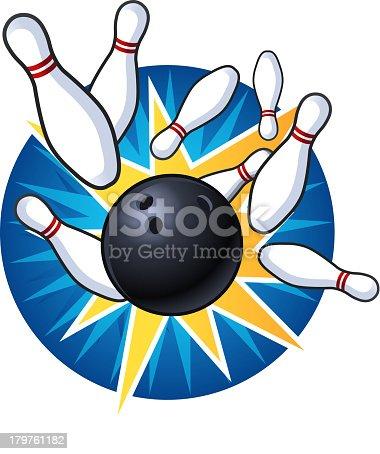 istock Bowling Strike 179761182