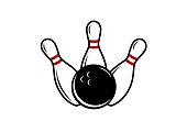 istock Bowling vector image 963167072