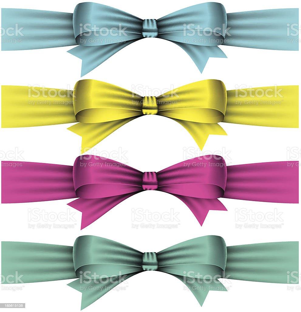 bows royalty-free stock vector art
